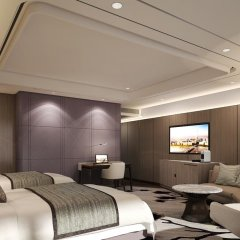 Отель Signiel Seoul Номер Премьер с двуспальной кроватью фото 3