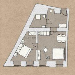 Отель 4 Arts Suites 3* Апартаменты с различными типами кроватей фото 7