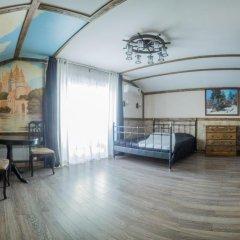 Гостиница Теремок Заволжский Апартаменты разные типы кроватей фото 41