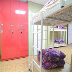 YaKorea Hostel Dongdaemun Кровать в женском общем номере с двухъярусной кроватью фото 2