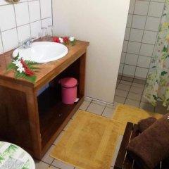 Отель Pension Hibiscus Tahaa ванная