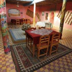 Отель Auberge Kasbah Des Dunes Марокко, Мерзуга - отзывы, цены и фото номеров - забронировать отель Auberge Kasbah Des Dunes онлайн питание фото 3