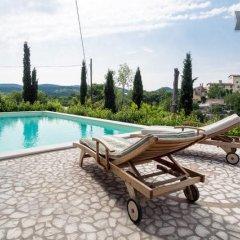 Отель Villa Le Casaline Сполето бассейн фото 2