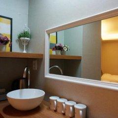 Hotel QB Seoul Dongdaemun 2* Номер категории Эконом с различными типами кроватей фото 7