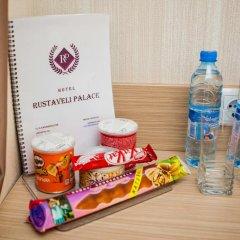 Отель Rustaveli Palace Стандартный семейный номер с двуспальной кроватью фото 17