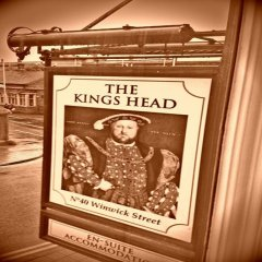Отель The Kings Head 3* Стандартный номер с различными типами кроватей фото 4