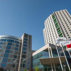 Отель Hilton Beijing 4* Номер Делюкс с различными типами кроватей фото 3