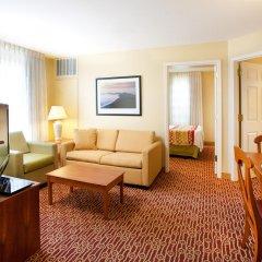 Отель TownePlace Suites Milpitas Silicon Valley 2* Люкс с 2 отдельными кроватями фото 2