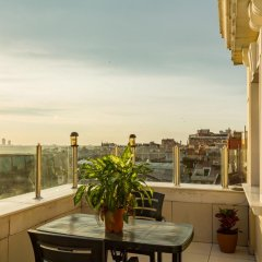 Grand Rosa Hotel Турция, Стамбул - отзывы, цены и фото номеров - забронировать отель Grand Rosa Hotel онлайн балкон