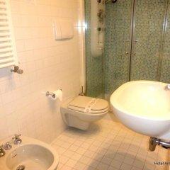 Отель Ambassador Италия, Римини - 1 отзыв об отеле, цены и фото номеров - забронировать отель Ambassador онлайн ванная фото 2