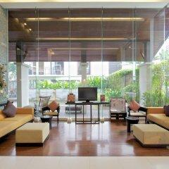 Отель Amanta Hotel & Residence Ratchada Таиланд, Бангкок - отзывы, цены и фото номеров - забронировать отель Amanta Hotel & Residence Ratchada онлайн интерьер отеля фото 3