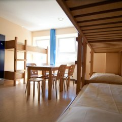 Haus International Hostel Кровать в общем номере с двухъярусными кроватями фото 3