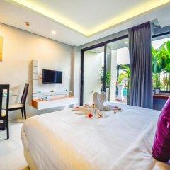 Отель At The Tree Condominium Phuket Номер Делюкс с двуспальной кроватью фото 12
