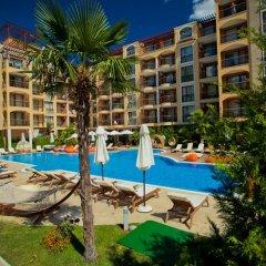 Отель Apartcomplex Harmony Suites Болгария, Солнечный берег - отзывы, цены и фото номеров - забронировать отель Apartcomplex Harmony Suites онлайн бассейн