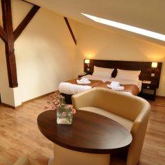 Отель Spatz Aparthotel 3* Стандартный номер с различными типами кроватей фото 13