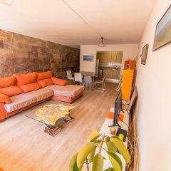 Отель Cuana Испания, Курорт Росес - отзывы, цены и фото номеров - забронировать отель Cuana онлайн комната для гостей фото 6