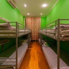 Отель Жилое помещение Bear на Смоленской Кровать в общем номере фото 6