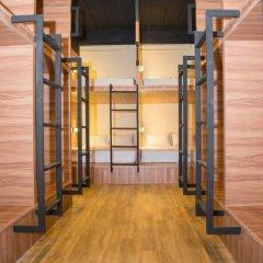 Fin Hostel Co Working Кровать в общем номере с двухъярусной кроватью фото 10