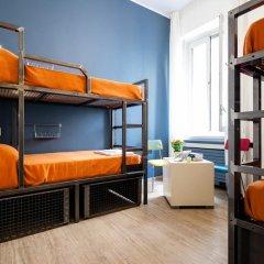 Отель Ostello Bello Grande Кровать в общем номере с двухъярусной кроватью фото 6