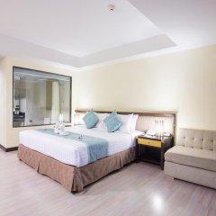 Отель D Varee Jomtien Beach 4* Представительский номер с различными типами кроватей фото 15