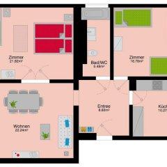Отель HITrental Kreuzplatz Apartments Швейцария, Цюрих - отзывы, цены и фото номеров - забронировать отель HITrental Kreuzplatz Apartments онлайн интерьер отеля