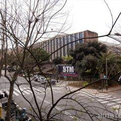 Отель Alcam Montjuic Барселона спортивное сооружение