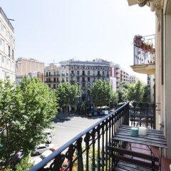 Отель AB Aragó Executive Suites балкон
