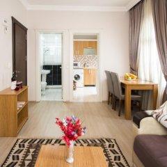 Апартаменты Feyza Apartments Студия Делюкс с различными типами кроватей фото 8
