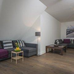 Отель Penthouse Stephansplatz Люкс с различными типами кроватей фото 40