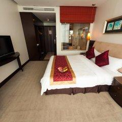 The Hanoi Club Hotel & Lake Palais Residences 4* Улучшенный номер двуспальная кровать фото 3