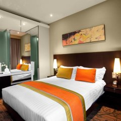 Отель Park Regis Singapore 4* Стандартный номер с различными типами кроватей фото 2