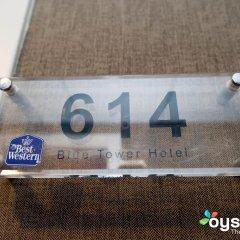 Отель XO Hotels Blue Tower 4* Стандартный номер с различными типами кроватей фото 20