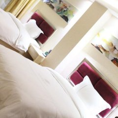 Отель Fangjie Yindu Inn 3* Стандартный номер с 2 отдельными кроватями фото 6