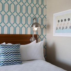 Отель Dream Inn Santa Cruz 4* Стандартный номер с различными типами кроватей фото 2