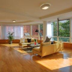 Апартаменты Franciscan Garden Apartments Прага интерьер отеля