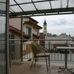 Отель C5 Apartments Сербия, Белград - отзывы, цены и фото номеров - забронировать отель C5 Apartments онлайн балкон