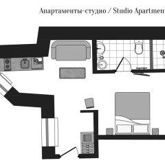 Отель Turgenev Residence 3* Студия фото 15