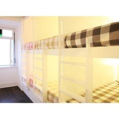 Liv'in Lisbon Hostel Кровать в общем номере с двухъярусной кроватью фото 2