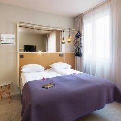 Отель Scandic Karl Johan 3* Улучшенный номер с различными типами кроватей фото 9