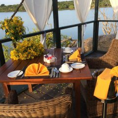Отель Tuskers Camping питание