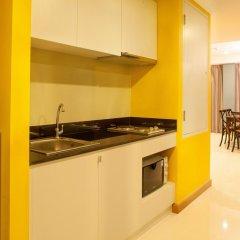 Отель Rocco Huahin Condominium Апартаменты с 2 отдельными кроватями фото 11