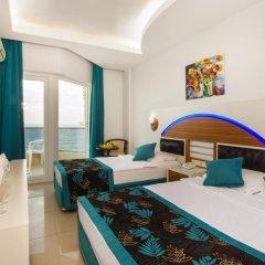 Kleopatra Ada Beach Hotel 4* Стандартный номер с 2 отдельными кроватями фото 2