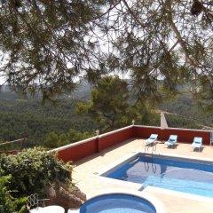 Отель Castell de Guardiola бассейн фото 2