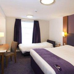 Отель Premier Inn London St.Pancras Великобритания, Лондон - отзывы, цены и фото номеров - забронировать отель Premier Inn London St.Pancras онлайн комната для гостей фото 3