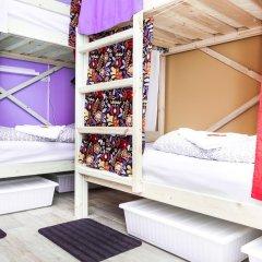 Гостиница Hostels Rus Vnukovo Кровати в общем номере с двухъярусными кроватями фото 6