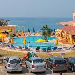 Palm Bay Hotel Studios пляж фото 2