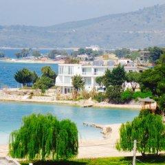 Отель Vila ILIRIA Албания, Ксамил - отзывы, цены и фото номеров - забронировать отель Vila ILIRIA онлайн пляж фото 2