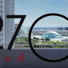 Отель Barceló Valencia Испания, Валенсия - 1 отзыв об отеле, цены и фото номеров - забронировать отель Barceló Valencia онлайн приотельная территория