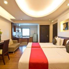 Golden Sea Pattaya Hotel 3* Студия Делюкс с различными типами кроватей фото 2