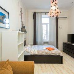 Апартаменты Four Squares Apartments on Tverskaya комната для гостей фото 5